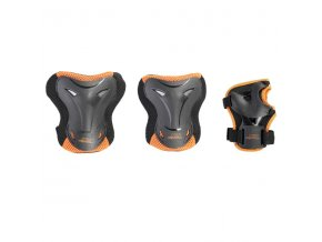 Souprava chráničů NILS EXTREME H716 černo-oranžová