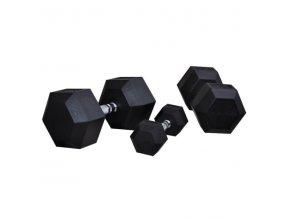 Hexagoniální jednoručka BAUER FITNESS AC-1703 7,5 kg