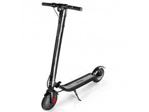 Spokey FENIKS Elektrická koloběžka černý lesk s možností výměny baterie, kolečka 9,2', do 125 kg