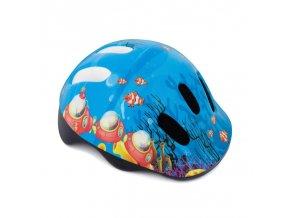 Spokey ODYSEY Dětská cyklistická přilba, 44-48 cm