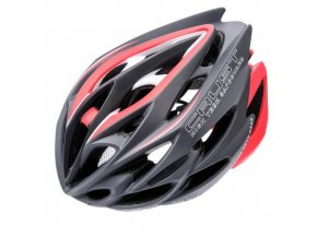 pol pm KASK ROWEROWY METEOR CRUST IN MOLD grey red 35490 5