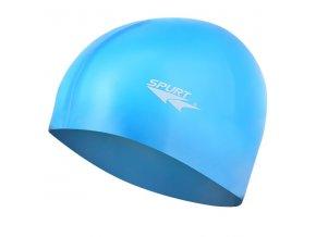 Silikonová čepice SPURT G-Type SC12 junior, modrá
