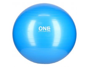 Gymnastický míč ONE Fitness Gym Ball 10 modrý, 65 cm