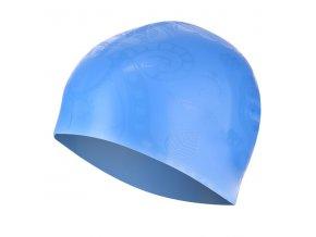 Silikonová čepice SPURT G-Type F224 woman se vzorem, modrá