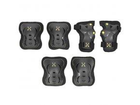 Souprava chráničů EX320, černo-žlutá