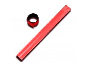 Reflexni pasek odrazka bezpecnost viditelnost cervena 1