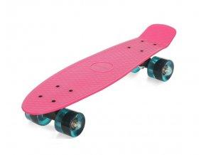 penny board pennyboard movino 56cm pp track ruzovy