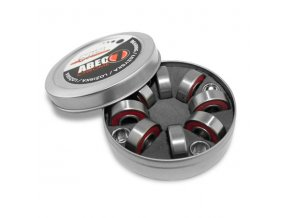 ABEC 7 RS CHROME LOŽISKA NILS EXTREME (8 KS BOX)