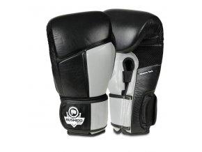 Boxerské rukavice DBX BUSHIDO ARB-431-ŠEDÉ