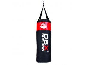Boxovací pytel DBX BUSHIDO 80cm/30cm 15-20kg pro děti, červený