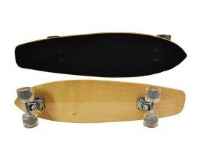 skateboard dreveny basicx prirodni 74cm