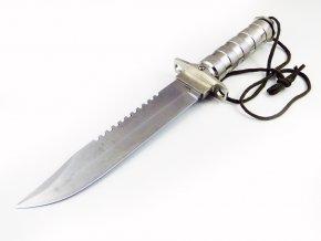 Taktický nůž Rambo, 35cm, rukojeť kov