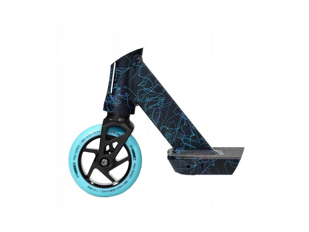 24662 8 freestyle kolobezka movino stunt slave light blue