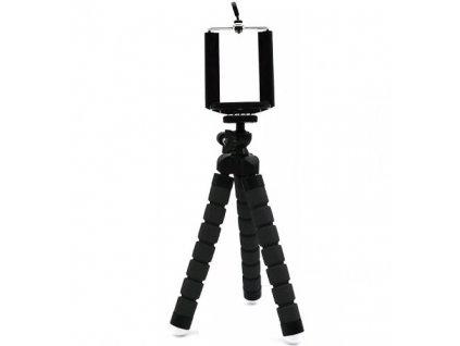 12390 2 flexibilni tripod selfie stativ cerny