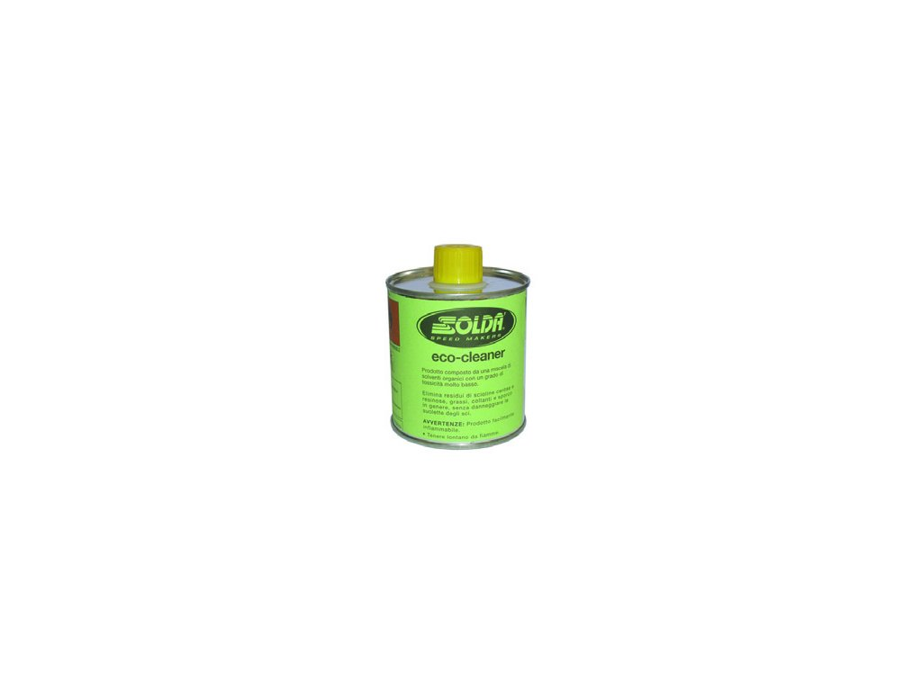 SOLDA ECO CLEANER  ml 250 (Ekologický čistič / smývač v plechové dóze 250ml - vhodný pro všechny podklady) hořlavina