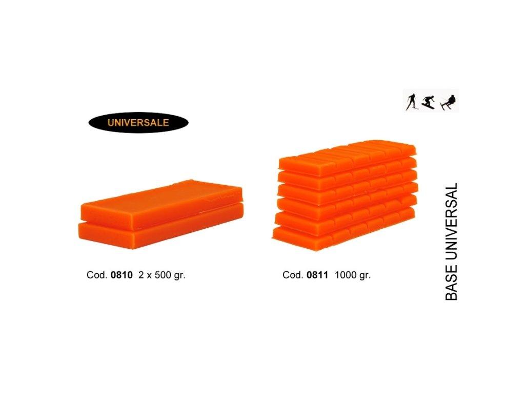 SOLDA BASE  ( n.2 X gr 500) (Základní univerzální 100% hydrocarbon balení 2x500g ) Teplota sněhu 0°/-10°C