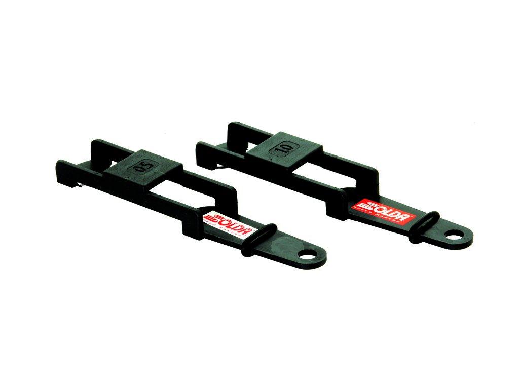 SOLDA Base level file guide (1°) (Plastový držák na pilník na podbrus hrany ze strany skluznice 1°)