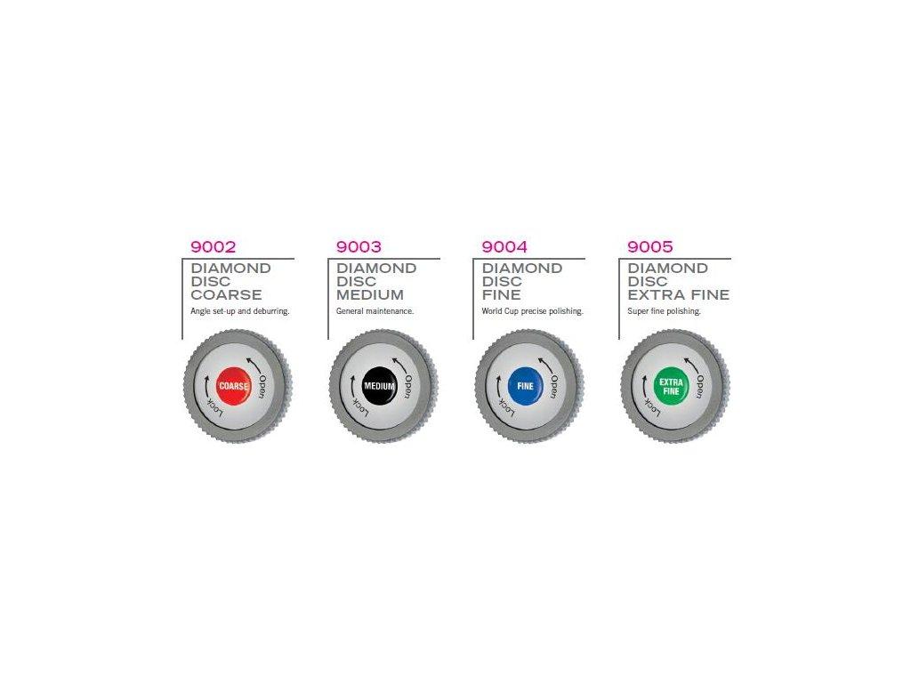 SKI-MAN Diamantový disk k brusce BRAVO SHARP WC - Střední