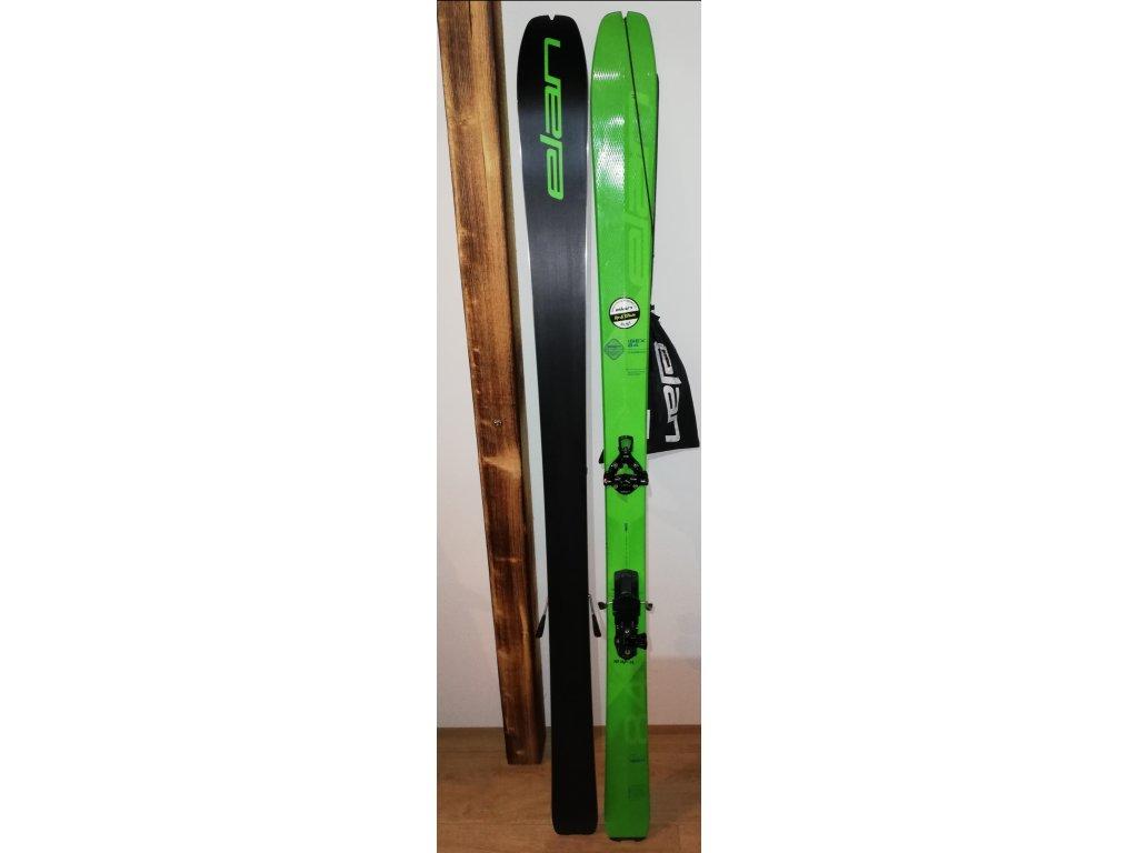 ELAN Ibex 84 Carbon 170 cm + vázání G3 ION 12 Demo s brzdičkami + pásy