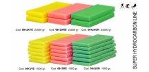 SOLDA LINEA SUPER  ( n.2 X gr 500 ) (100% hydrocarbon (belení 2x 500g) ideální tréninkový vosk pro nízkou a střední vlhkost vzduchu, Žlutý: Teplota sněhu. 0°/-2°C - Teplota vzduchu +5°/+2°C)