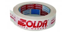 SOLDA Adesive plastic tape (roll) (Lepící páska 1 rulička)