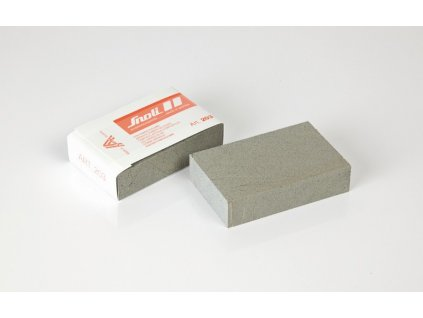 Guma SNOLI tupící, čistící, leštící 80 x 50 x 20 mm, hrubá