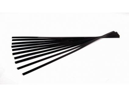 Kofixové pásky SNOLI, černé, tavící, 10 ks