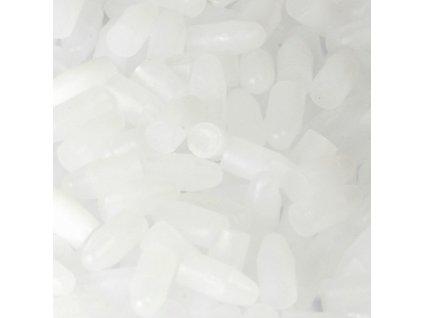Záslepky SNOLI, ucpávky plastové 4,5 mm, 1000 ks, ptansparentní