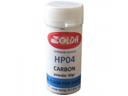 SOLDA HP04 CARBON 30gr (Vyjímečný produkt - prášek vyvinutý pro špinavý sníh při podmínkách mezi FLUOR 100 a HP05)
