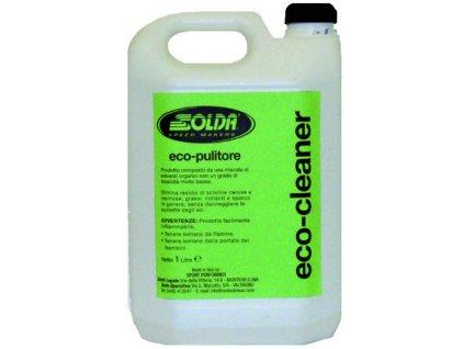SOLDA ECO CLEANER in metal container of lt 5 (Ekologický čistič / smývač v plechové dóze 5l - vhodný pro všechny podklady) hořlavina