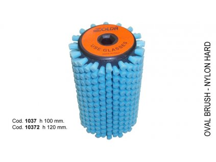 SOLDA Hard nylon roto brush  mm 100 (Nylonový rotační kartáč 100mm - tvrdý nylon)