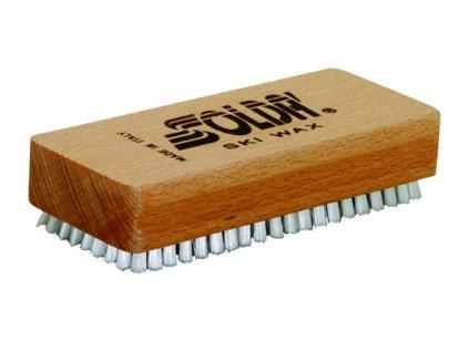 SOLDA Nylon flat brush (Nylonový kartáč - ruční, plochý)