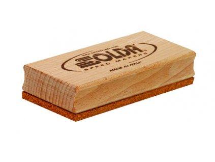"""SOLDA Cork flat brush (""""Kartáč"""" ruční korek)"""