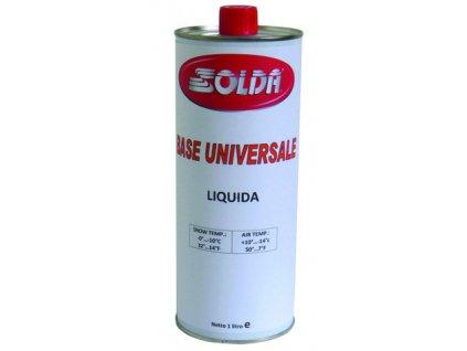 SOLDA BASE UNIVERSAL  liquid  ml 1.000 (Základní univerzální 100% hydrocarbon tekutý 1 l ) Teplota sněhu 0°/-10°C