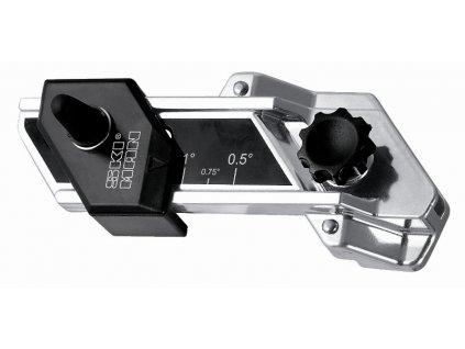 """SKI-MAN Nastavitelný brousek ze strany skluznice, úhelník z plochy """"ADJUSTABLE BASE SHARP"""" (od 0.5° do 1.5°)"""