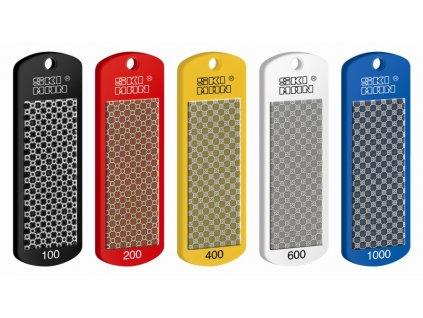 "SKI-MAN Diamantový pilník ""RACING TEAM"" - plastový podklad 70 mm (1000)"