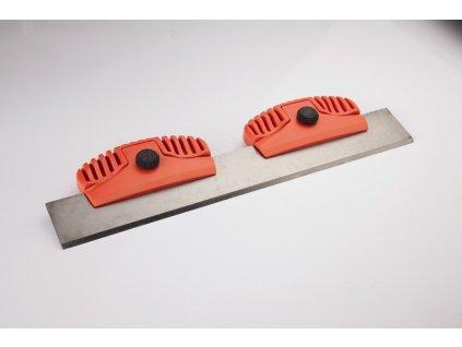 Stěrka na lyže kovová SNOLI+jednostranná čepel (radeko), SNB, 320 x 45 x 3 mm, pouzdro