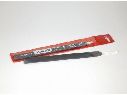 Pilník na lyže SNOLI, chromovaný, 200 mm-Cut 0, hrubý