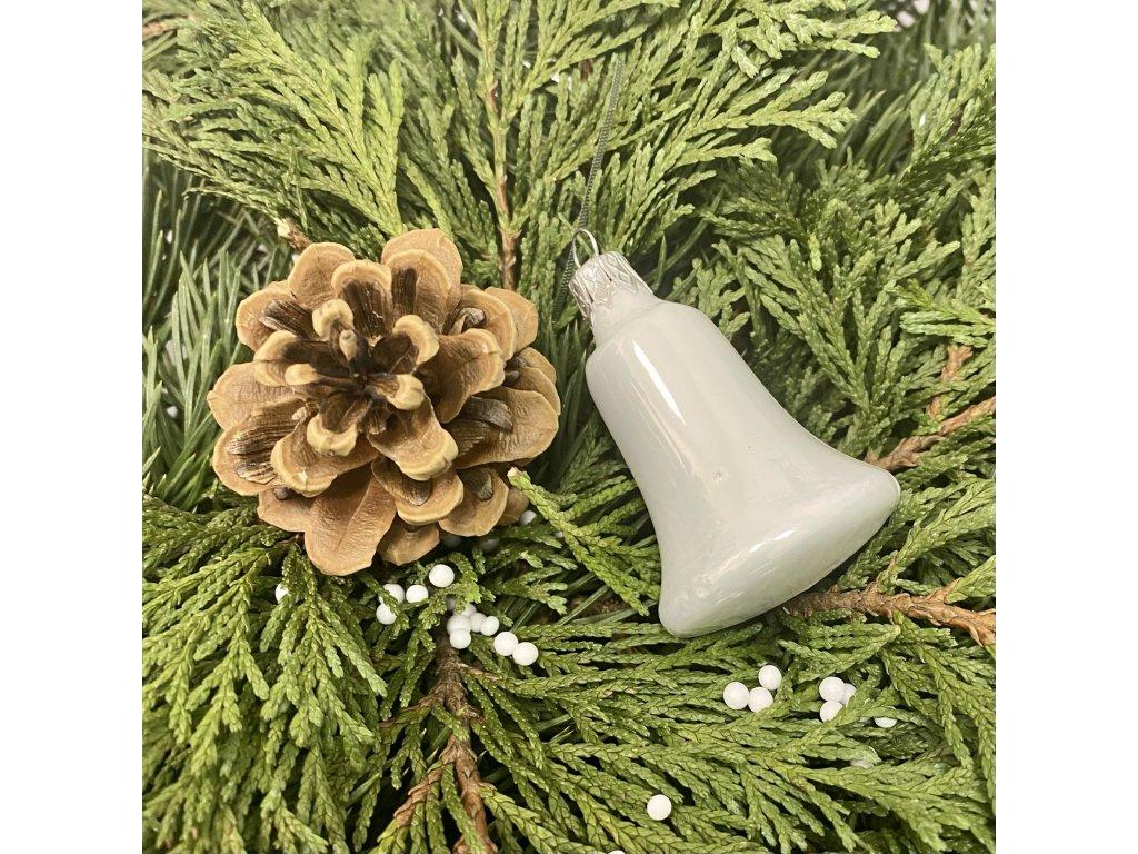 Hladký zvoneček (Balení 1ks, Barva bílá, Velikost 5 cm)