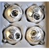 Limitovaná edice art.18 (Balení 4ks, Barva stříbrná, Velikost 7 cm)