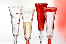 Kouzelné skleničky Love