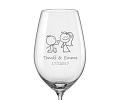Svatební skleničky na víno
