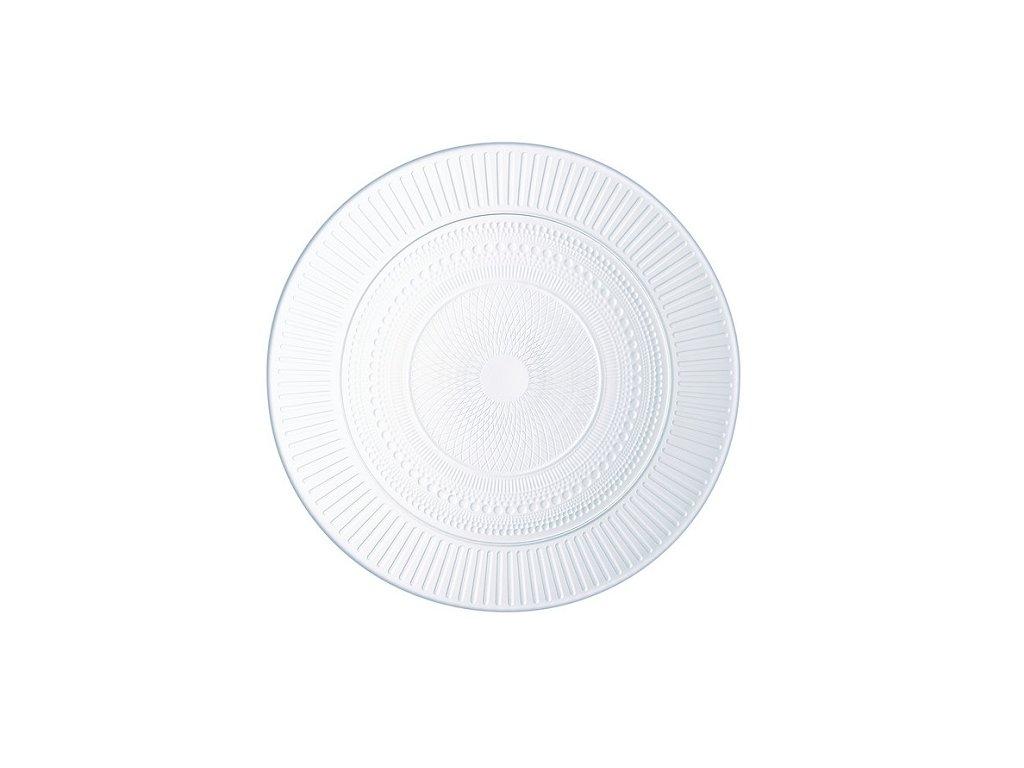 Luminarc skleněný talíř mělký Louision 25 cm