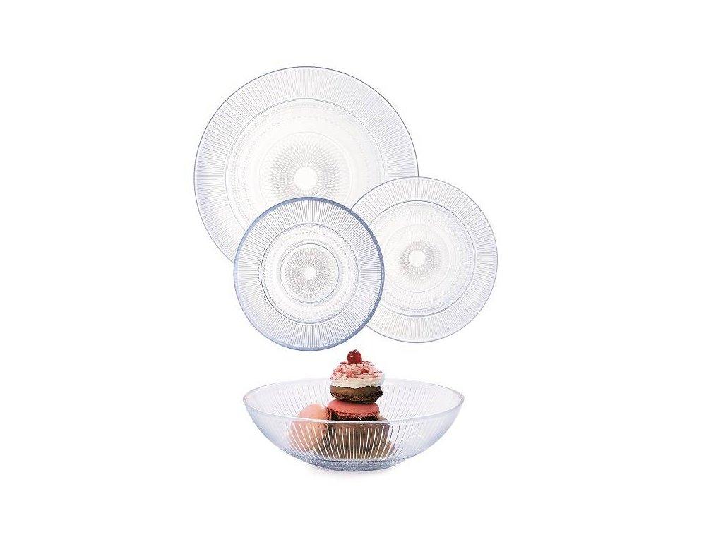 Louison Jídelní souprava talířů Luminarc