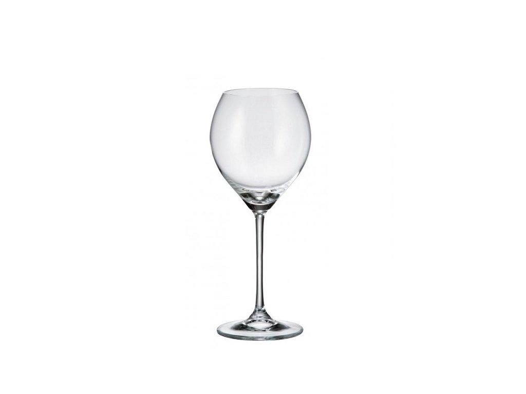 Crystalite Bohemia Sklenice na bílé víno CECILIA 240 ml