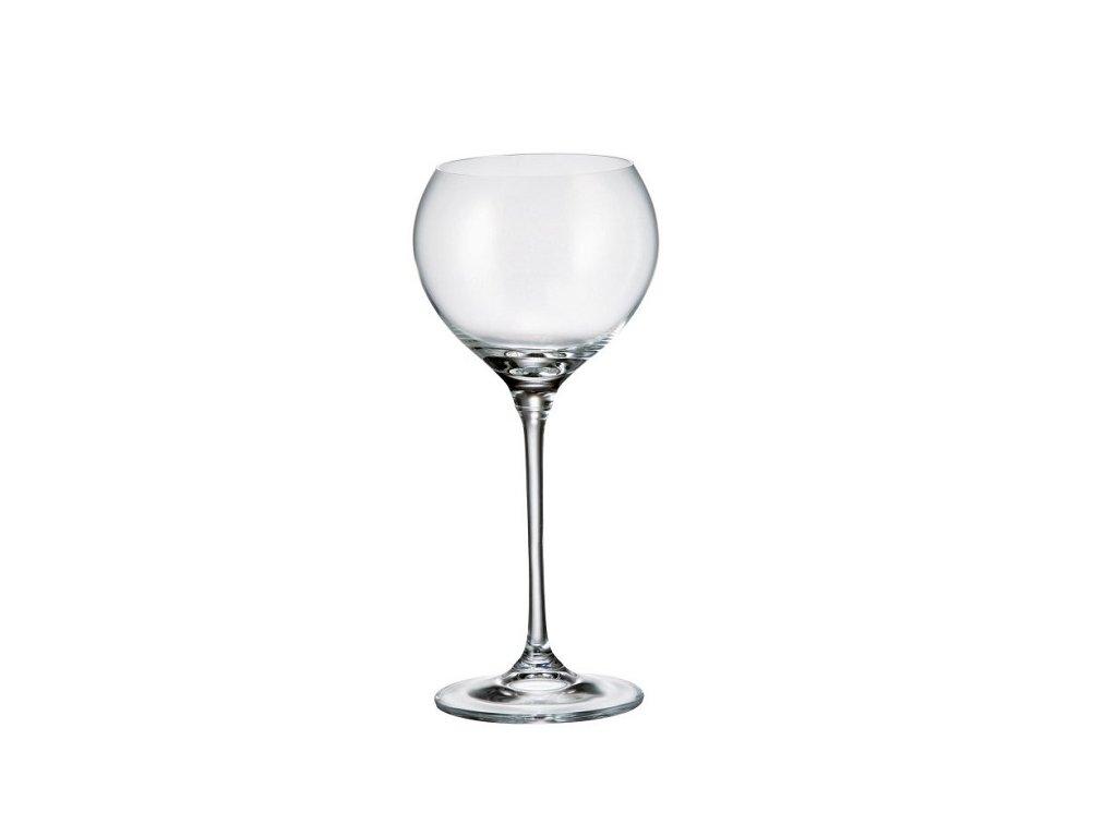 Crystalite Bohemia Sklenice na víno CECILIA 340 ml