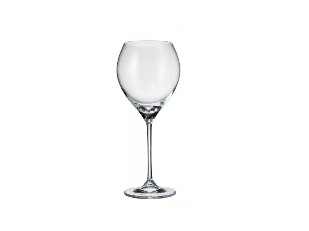 Crystalite Bohemia Sklenice na víno CARDUELIS 390 ml, 1 ks