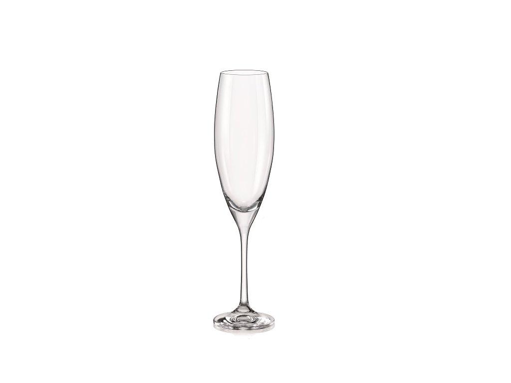 Crystalex sklenice na sekt Sophia 230 ml