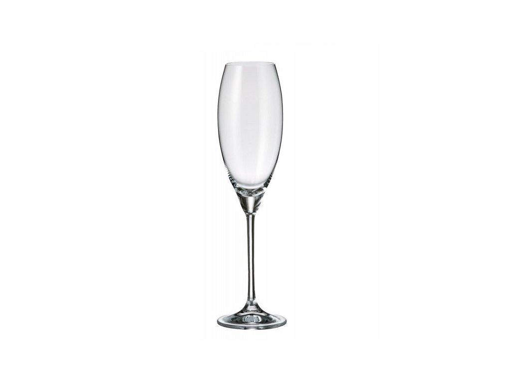 Crystalite Bohemia Sklenice na sekt CECILIA 290 ml