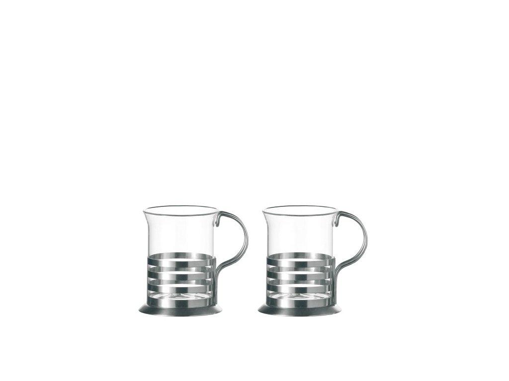 Leonardo Skleněné hrnky na čaj BALANCE 220 ml